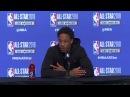 DeMar DeRozan Postgame Interview February 18 2018 2018 NBA All Star Game