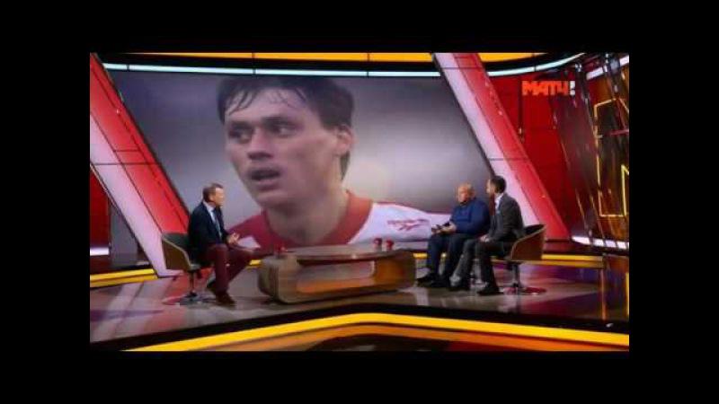 Илья Цымбаларь игрок с которым российский футбол отправлялся в космос
