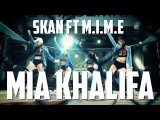 BEENIE MAN - I'M THE KING SKAN FT M.I.M.E MIA KHALIFA JUDANCE GIRLS PERFORMANCE