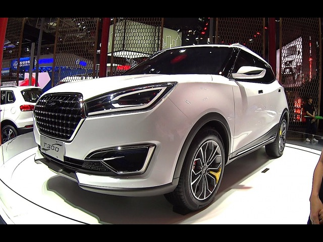 2016, 2017 Zotye T300 SUV, the Porsche Macan clone Unveiled On The Beijing Auto Show