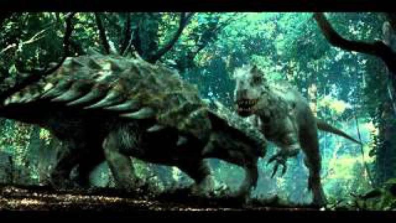 Jurassic World - Indominus Rex vs Ankylosaurus Scene