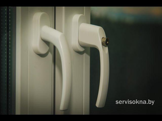 Установка ручки с замком для окон безопасность-детей.   Видео инструкция от комп ...