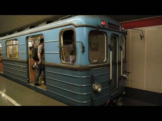 Budapest Metro M2 Deák Ferenc tér [1080p]