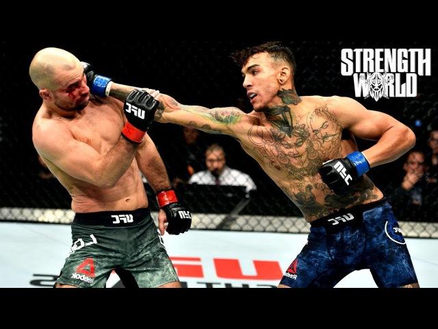 Artem Lobov vs Andre Fili Fight Highlights STRENGTH WORLD