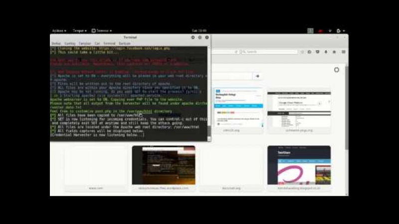 Mengetahui Email dan password Facebook orang menggunakan Kali Linux Tutorial Hack