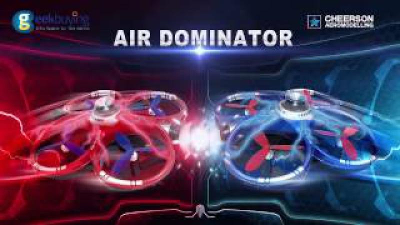 БОЙ КВАДРОКОПТЕРОВ CHEERSON CX-60 WIFI AIR DOMINATOR - RCX