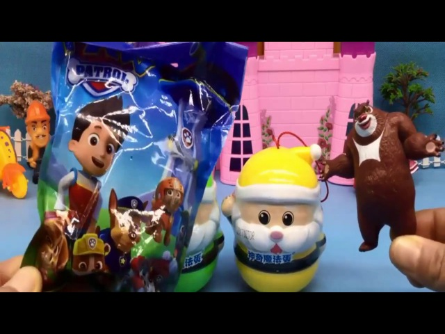 Paw patrol surprise Toys Boonie bear toys Superrr Toys