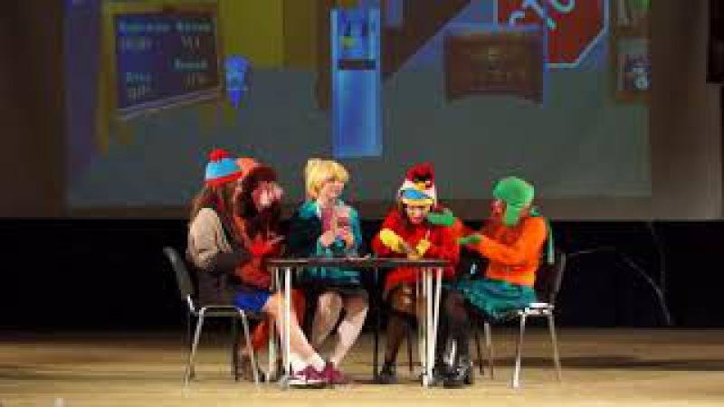 Gakko Fest 2017. Акт 3-5. Сценка. Южный Парк от Koko Production (г.Белгород)