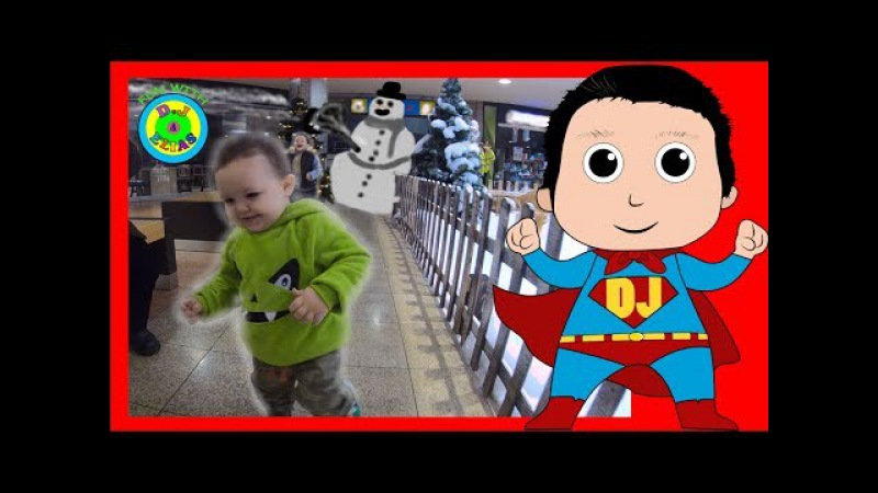 Baby Brothers Looking For Santa and Have Fun!LET'S HAVE SOME FUN WITH D.J. ELIAS!Part2