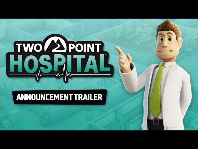 Two Point Hospital Announcement Trailer PEGI UK