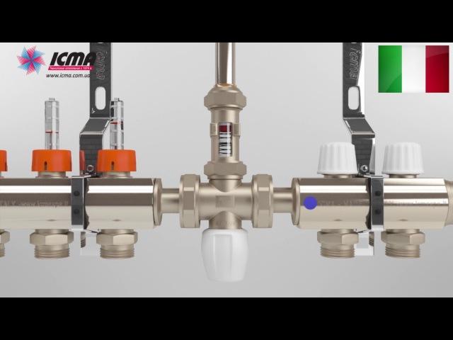 Заполнение, настройка и работа коллекторной системы ICMA 1