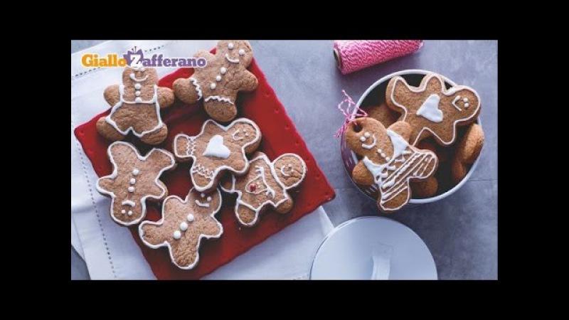 Dolci di Natale Biscotti di Pan di zenzero (gingerbread)
