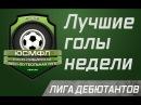 Лучшие голы недели. Лига дебютантов (22.02.2018 г.)