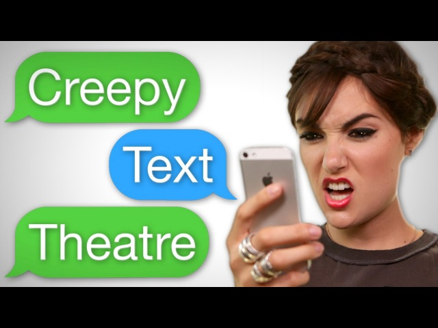 Creepy Text Theatre with SASHA GREY