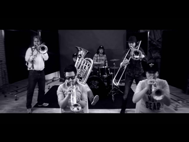 Tinto Brass band I Love Rock 'n' Roll brass cover