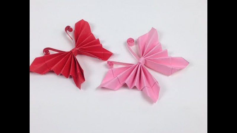 How to Make Easy Origami Paper Butterflies🦋 - DIY | A Very Simple Butterfly 🦋 for Beginners Making