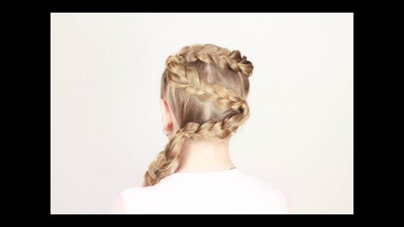 Детская прическа за 10 минут. 10 Minutes Children's Hairstyle