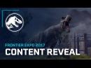 Jurassic World Content Reveal