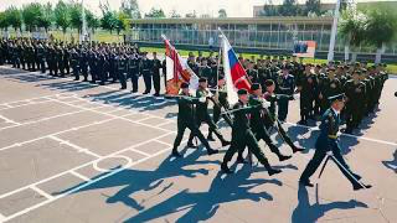 военная присяга ОАБИИ 2017 Омск