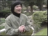 Trick with gum from Jackie Chan