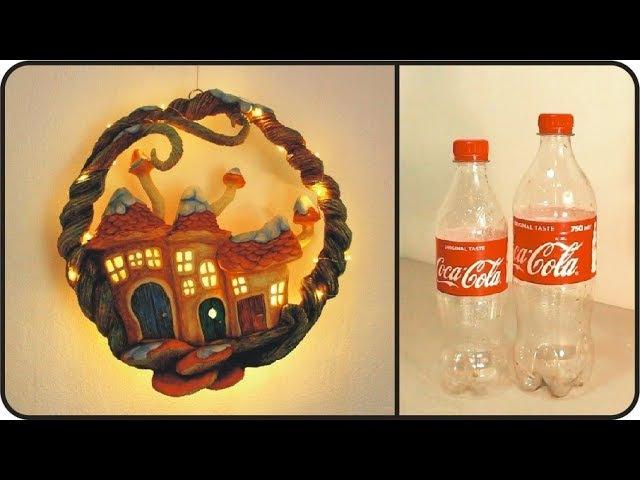 ❣DIY Christmas Wreath Using Coke Plastic Bottles❣