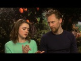 Maisie Williams & Tom Hiddleston: EARLY MAN
