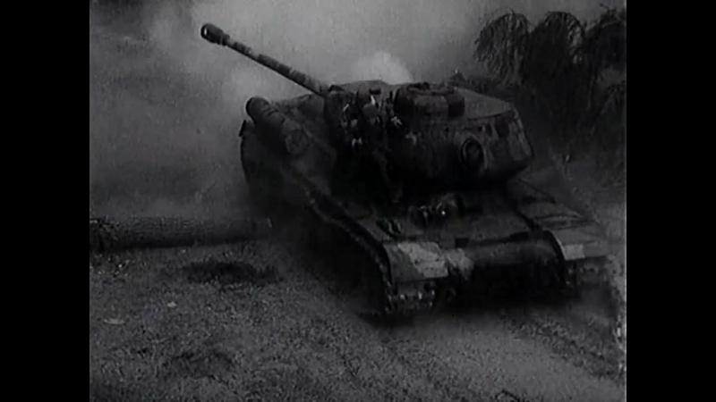 Четыре танкиста и собака (1968). 12 серия. Бой с немецким десантом и бронетехникой в лесу