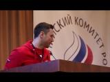 Заявление Ильи Ковальчука от лица сборной России