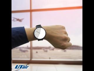 Один из лидеров по пунктуальности | UTair