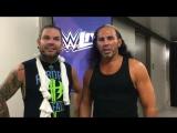 WWE The Hardy Boyz ~ Matt Hardy & Jeff Hardy