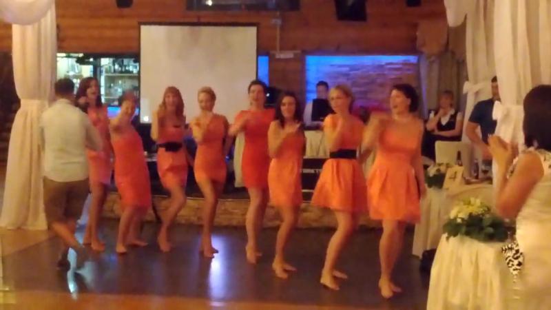 DiscoGirls Танец сюрприз от невесты и подружек - аееее Ведущая на свадьбу в Туле