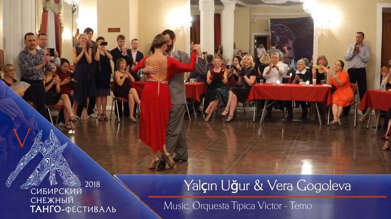Yalçın Uğur Vera Gogoleva 2-3, ССТФ2018, Красноярск