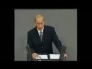Wladimir Putins Liebeserklärung an Deutschland in Deutsch im Deutschen Bundesta