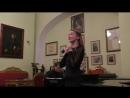 Анастасия Балака. Н.А.Римский-Корсаков. Ариетта Снегурочки. Концертмейстер - Г. Г. Мигунов