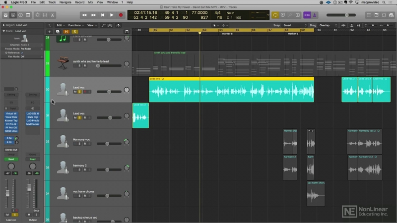 MacProVideo - Logic Pro FastTrack 302- 10.3x Workflow Tips