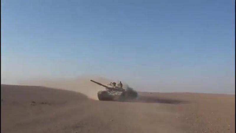 Сирийская армия отбила большое наступление террористов ИГ на западе Хумаймы, восток провинции Хомс.