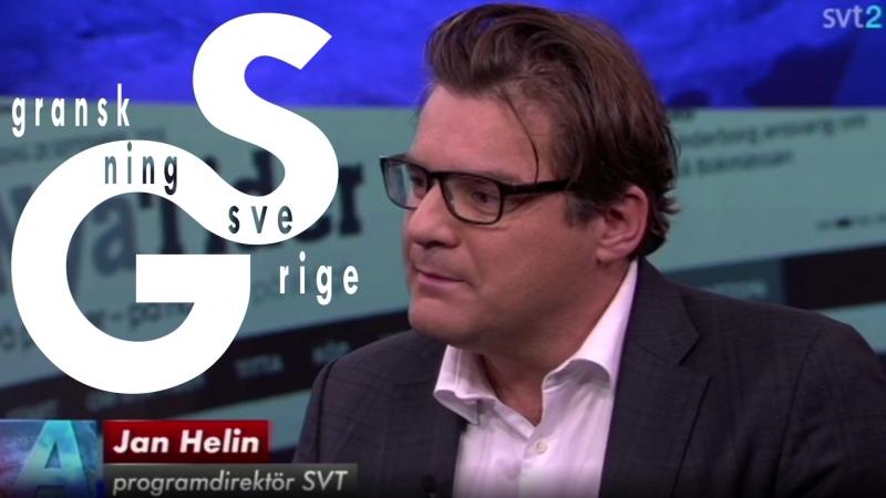 SVT-chefen Jan Helin ljuger - flyr frågor