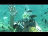 В Турции с аквалангом