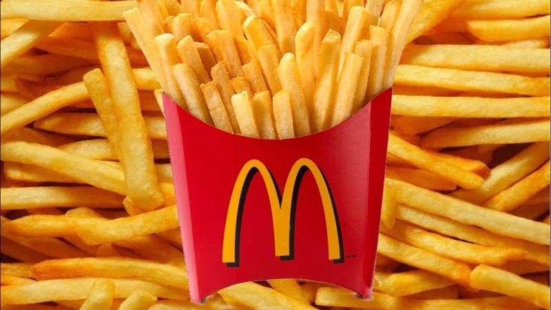 Alimentation Dans ses frites McDonald's ajoute du silicone