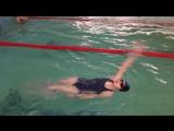 Екатерина Гарм., первые 50 м, 6 занятие