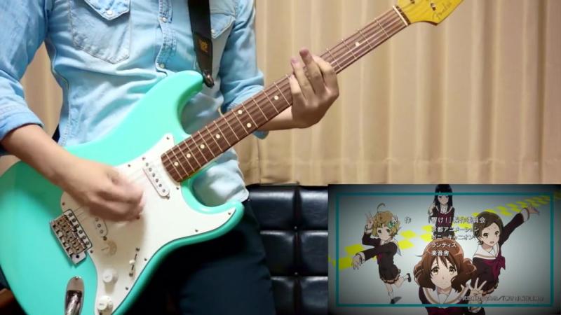гитара Играй эуфониум! ED Tutti! Guitar cover