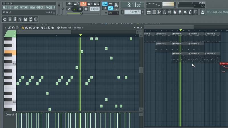 FL Studio 1st work