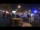 Торопившийся водитель вытолкнул с дороги легковушку на проспекте Мира