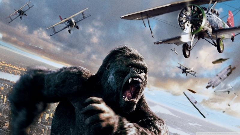 🎬Кинг Конг (King Kong, 2005) HD