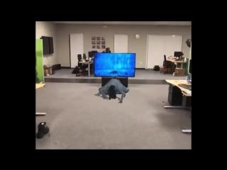 iOS-разработчик повторил сцену из ужастика «Звонок» в дополненной реальности
