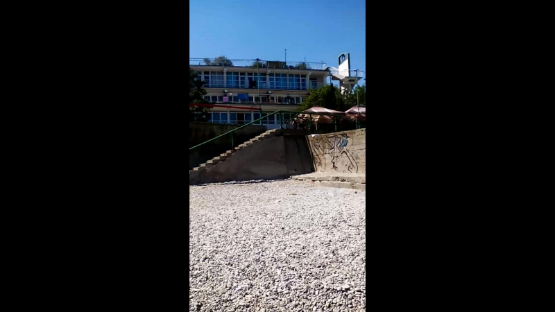 коктебель пляж
