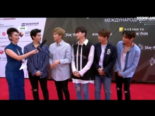 20.08.2017 U-KISS Red Carpet @ «Star of Asia»