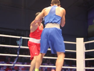 69 кг Вадим Мусаев (Каспийск) - Павел Сосулин (Санкт-Петербург)