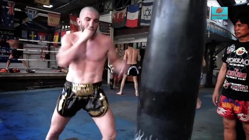 V из ярчайших представителей тайского бокса Джабар Чингисхан Аскеров
