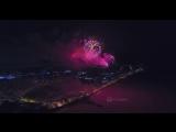 Chasing the Firework / 23th of February / DJI Phantom 4 Pro / 4K